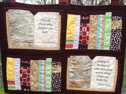 Book Lover Quilted Wall Hanging